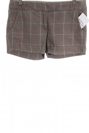 s.Oliver Hot pants motivo a quadri stile casual