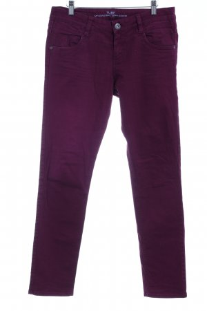 s.Oliver Low Rise jeans bordeaux casual uitstraling