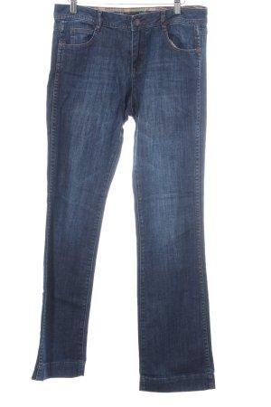 s.Oliver Hüftjeans dunkelblau Jeans-Optik