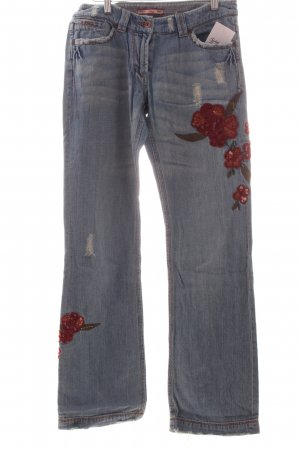 s.Oliver Hüftjeans kornblumenblau extravaganter Stil