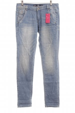 s.Oliver Hüftjeans kornblumenblau Jeans-Optik