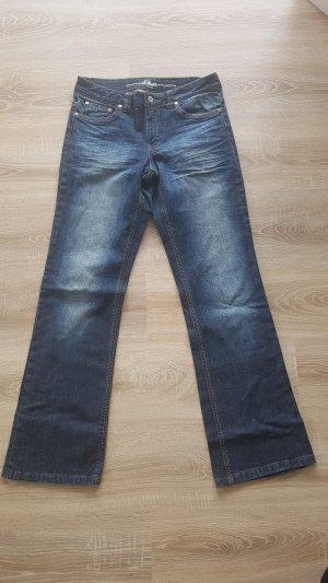 s.Oliver Boot Cut spijkerbroek blauw