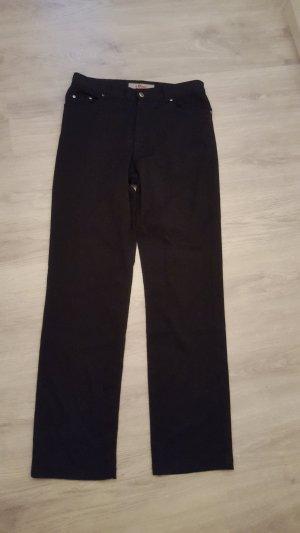 S.Oliver Jeans Boot Cut Hose schwarz Größe W31 Damen Stoffhose
