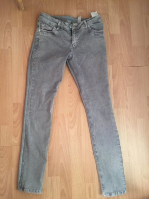 S.Oliver Jeans Grau Skinny Tube Größe 36 Länge 32