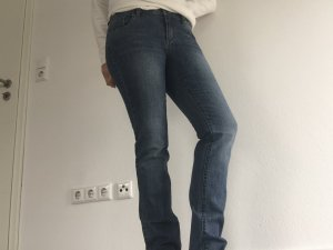 s.Oliver Tube jeans korenblauw
