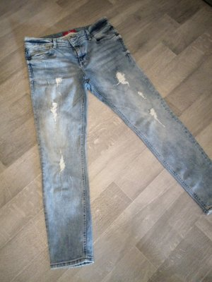 s.oliver Jeans im Used look, washed out, destroyed