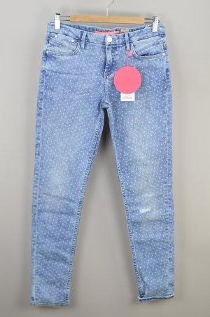 s.Oliver Jeans mit Punktmuster blau Größe 36