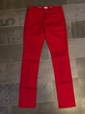s.Oliver Straight Leg Jeans red