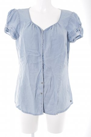 s.Oliver Jeansbluse himmelblau Casual-Look