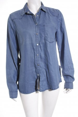 s.Oliver Jeanshemd blau Casual-Look