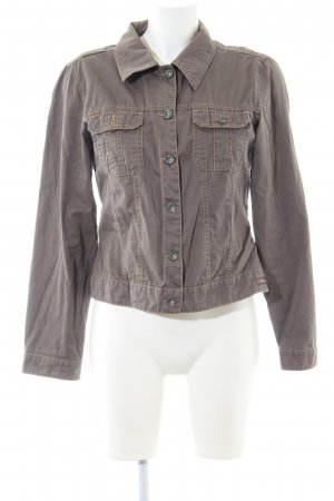 s.Oliver Jeansjacke braun Casual-Look