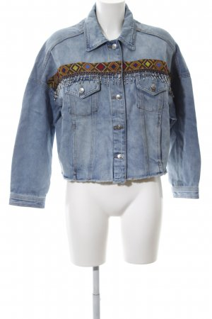 s.Oliver Jeansjacke Mustermix Casual-Look