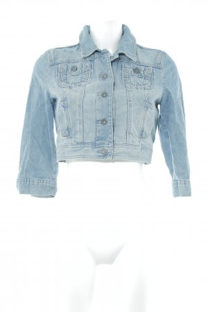 s.Oliver Jeansjacke blassblau Jeans-Optik
