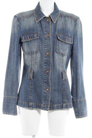 s.Oliver Jeansjacke blau-blassblau Jeans-Optik