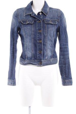 s.Oliver Veste en jean bleu style décontracté