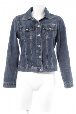 s.Oliver Jeansjacke dunkelblau Casual-Look