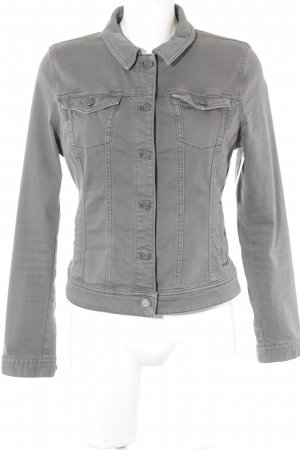 s.Oliver Jeansjacke grau Casual-Look