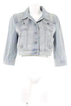 s.Oliver Jeansjacke himmelblau Casual-Look