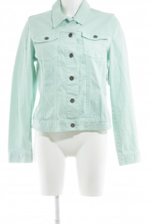 s.Oliver Jeansjacke mint Street-Fashion-Look