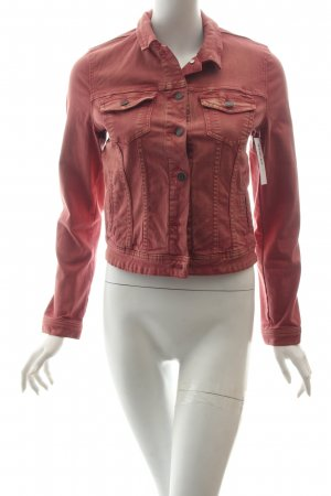 s.Oliver Jeansjacke rosa Casual-Look