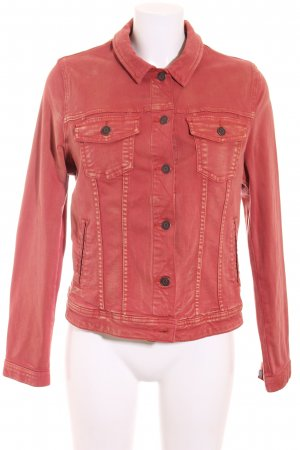 s.Oliver Jeansjacke rostrot Casual-Look