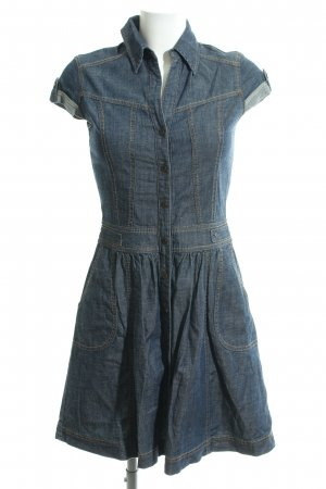 s.Oliver Denim Dress blue casual look