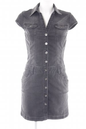 s.Oliver Denim Dress dark grey-grey casual look