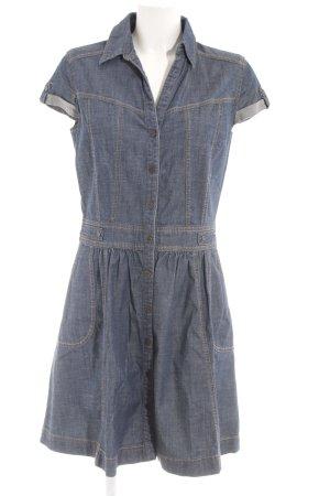 s.Oliver Denim Dress slate-gray casual look