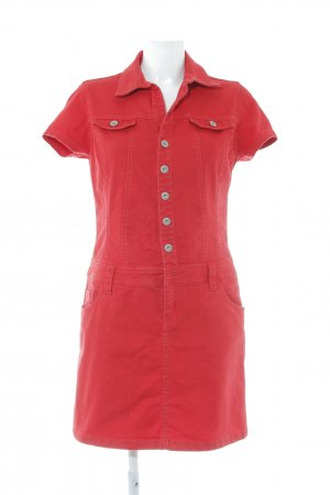 s.Oliver Denim Dress red college style
