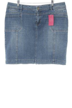 s.Oliver Jupe en jeans bleu Aspect de jeans