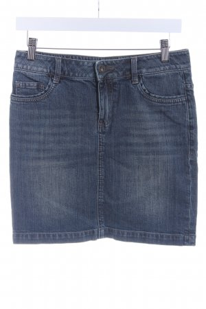 s.Oliver Jeansrock dunkelblau Casual-Look