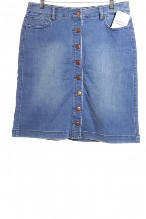 s.Oliver Jeansrock dunkelblau-himmelblau Street-Fashion-Look