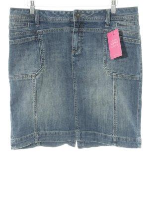 s.Oliver Jeansrock dunkelblau Jeans-Optik