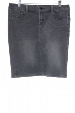 s.Oliver Jeansrock dunkelgrau Casual-Look