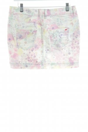 s.Oliver Jeansrock florales Muster Casual-Look