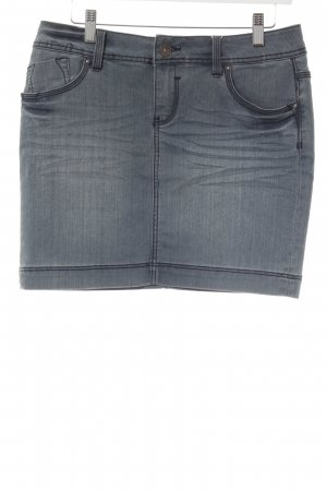 s.Oliver Jeansrock graublau Casual-Look