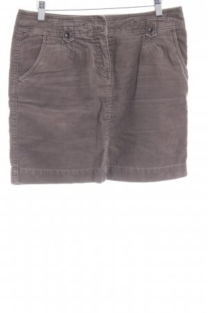 s.Oliver Denim Skirt grey brown simple style