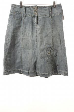 s.Oliver Jeansrock himmelblau Casual-Look