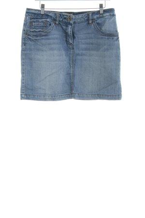 s.Oliver Jeansrock himmelblau Jeans-Optik