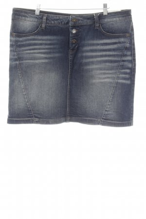 s.Oliver Jeansrock mehrfarbig Casual-Look