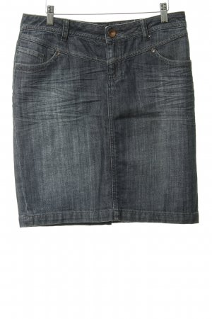 s.Oliver Jeansrock meliert Jeans-Optik