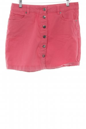 s.Oliver Jeansrock neonrot Casual-Look