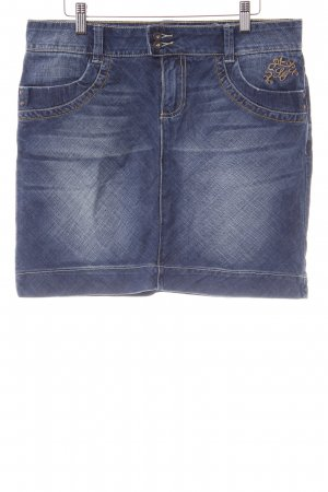s.Oliver Jeansrock stahlblau Casual-Look