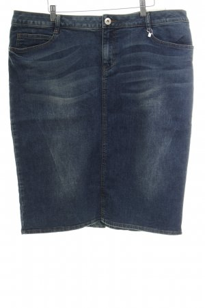 s.Oliver Jeansrock stahlblau Washed-Optik