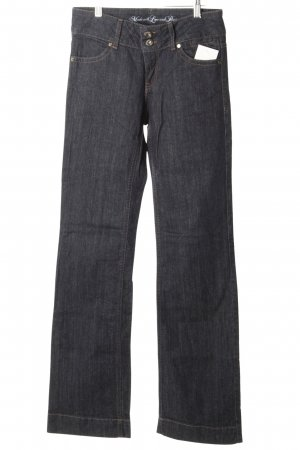 s.Oliver Jeansschlaghose dunkelblau Casual-Look