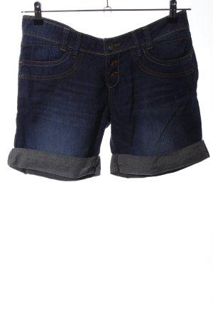 s.Oliver Pantaloncino di jeans blu stile casual