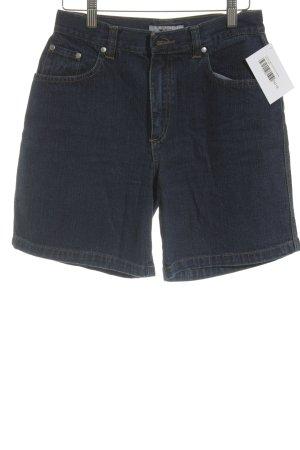s.Oliver Jeansshorts dunkelblau Jeans-Optik