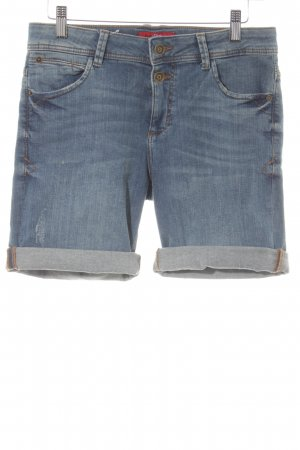 s.Oliver Denim Shorts steel blue second hand look