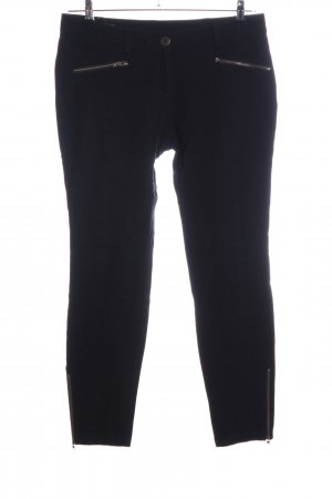 s.Oliver Jeggings negro look casual