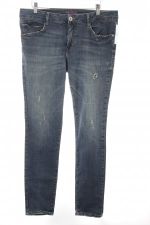 s.Oliver Jeggings azul look casual